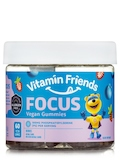 Vegan Focus Gummies for Kids, Berry Flavor - 60 Gummies