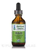 K & B (Herbal Tincture) - 2 fl. oz