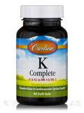 K Complete (K1 &K2 as MK-4 & MK-7) - 90 Soft Gels