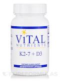 K2-7 + D3 - 60 Vegetarian Capsules