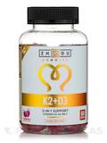 Vitamin K2 + D3 Gummies, Natural Strawberry Flavor - 60 Vegan Gummies