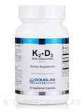 K2-D3 with Astaxanthin - 30 Vegetarian Capsules