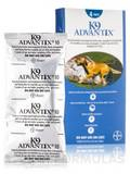 K9 Advantix® for Dogs and Puppies (7 weeks and older, over 55 lbs) - Four Tubes (0.135 fl. oz / 4.0