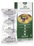 K9 Advantix® for Dogs and Puppies (7 weeks and older, up to 10 lbs) - Four Tubes (0.014 fl. oz / 0.4