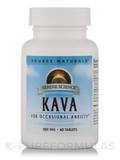 Kava For Occasional Anxiety 500 mg - 60 Tablets