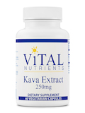 Kava Extract 250 mg - 60 Capsules