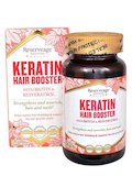 Keratin Hair Booster™ with Biotin & Resveratrol - 120 Capsules