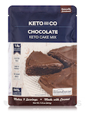 Keto Cake Mix, Chocolate Flavor - 9.2 oz (261 Grams)