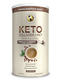 Keto Collagen + MCT with Acacia Fiber, Vanilla Flavored - 14.1 oz (400 Grams)