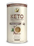 Keto Collagen + MCT with Acacia Fiber, Vanilla Flavored - 14.1 oz (400 Grams)