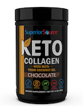 Keto Collagen with MCT's, Chocolate Flavor - 14 oz (397 Grams)