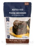 Keto Fudge Brownie Mix - 10.2 oz (290 Grams)