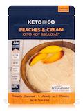 Keto Hot Breakfast, Peaches and Cream Flavor - 7.6 oz (216 Grams)