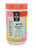 Keto Marine Collagen Powder, French Vanilla Wafer Sundae Flavor - 17.6 oz (500 Grams)