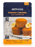 Keto Muffin Mix, Banana & Caramel Flavor - 8.8 oz (251 Grams)