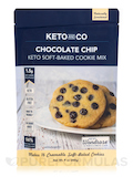 Keto Soft-Baked Cookie Mix Classic - Chocolate Chip Flavor - 9 oz (260 Grams)