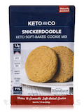 Keto Soft-Baked Cookie Mix - Snickerdoodle Flavor - 7.9 oz (225 Grams)