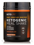 Ketogenic Meal Shake, Chocolate Cream - 19 oz (539 Grams)