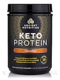 KetoPROTEIN Powder, Chocolate - 19 oz (540 Grams)