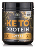 KetoPROTEIN Powder, Coffee - 19.9 oz (545 Grams)