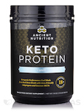 KetoPROTEIN Powder, Vanilla - 18.7 oz (530 Grams)