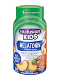 Kids Melatonin Gummy, Natural Tropical Peach Flavor - 50 Gummies