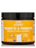 Kids Organic Prebiotic & Probiotic, Peach Mango Flavor - 60 Fruit Gummies