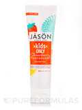 Kids Only Strawberry Toothpaste, Fluoride Free - 4.2 oz (119 Grams)