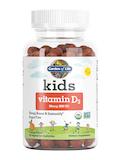 Kids Vitamin D3 20 mcg (800 IU), Orange Flavor - 60 Vegetarian Gummies