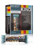KIND Nuts & Spices - Dark Chocolate Nuts & Sea Salt - Box of 12 Bars