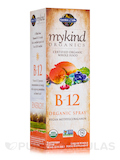 mykind Organics B12 Spray Liquid, Raspberry Flavor - 2 fl. oz (58 ml)