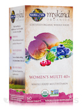 KIND Organics Women's 40+ Multi - 60 Vegan Tablets