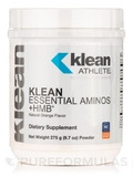 Klean Essential Aminos +HMB®, Natural Orange Flavor - 9.7 oz (275 Grams)