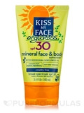 KMF Organics™ Face & Body Mineral SPF30 Sunscreen Lotion - 3.4 fl. oz (100 ml)