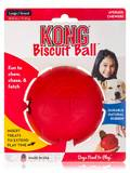 KONG® Biscuit Ball for Large Dogs (30-65 lbs / 13-30 Kg) - 1 Count