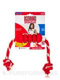KONG® Dental with Rope for Medium Dogs (15-35 lbs / 7-16 Kg) - 1 Count