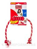 KONG® Dental with Rope for Small Dogs (Up to 20 lbs / 9 Kg) - 1 Count