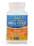 Krill Gold (Neptune Krill Oil) Double Strength 1000 mg 60 Softgels
