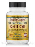 Krill Oil 500 mg (K-Real™) 60 Softgels
