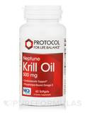 Neptune Krill Oil 500 mg - 60 Softgels