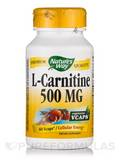 L-Carnitine 500 mg 60 Vegetable Capsules