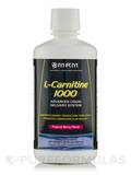 L-Carnitine Liquid 1000 mg All Natural Tropical Berry 32 oz