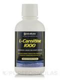 L-Carnitine Liquid 1000 mg All Natural Vanilla Flavor 17 oz