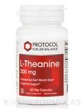 L-Theanine 200 mg 60 Vegetarian Capsules