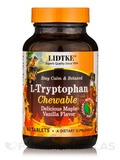 L-Tryptophan Chewable, Delicious Maple Vanilla Flavor - 60 Tablets
