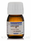 Lapis Albus 6c (Liquid 20% Alcohol) 1 oz (30 ml)