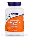 L-Arginine 1000 mg (Double Strength) - 120 Tablets
