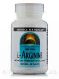 L-Arginine 500 mg - 50 Tablets