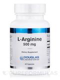 L-Arginine 500 mg 60 Capsules