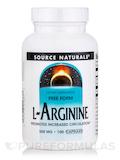 L-Arginine Caps 500 mg - 100 Capsules